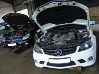 Mercedes Servicing and Mercedes Repairs, STR Service Centre, Norwich