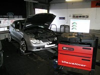 Mercedes Four Wheel Alignment at STR Service Centre, Norwich, Norfolk